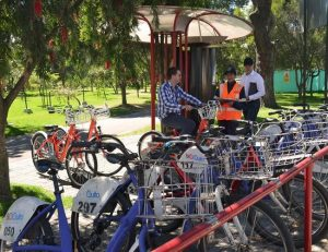 Bici Quito, exercise, avoid traffic and help the planet for free