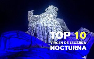 The 10 best night pictures of the Virgin of Legarda, Quito