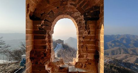 #SagaAsia   A movie-like town at the foot of the Great Wall